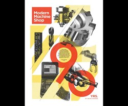 Modern Machine Shop's 90th anniversary poster