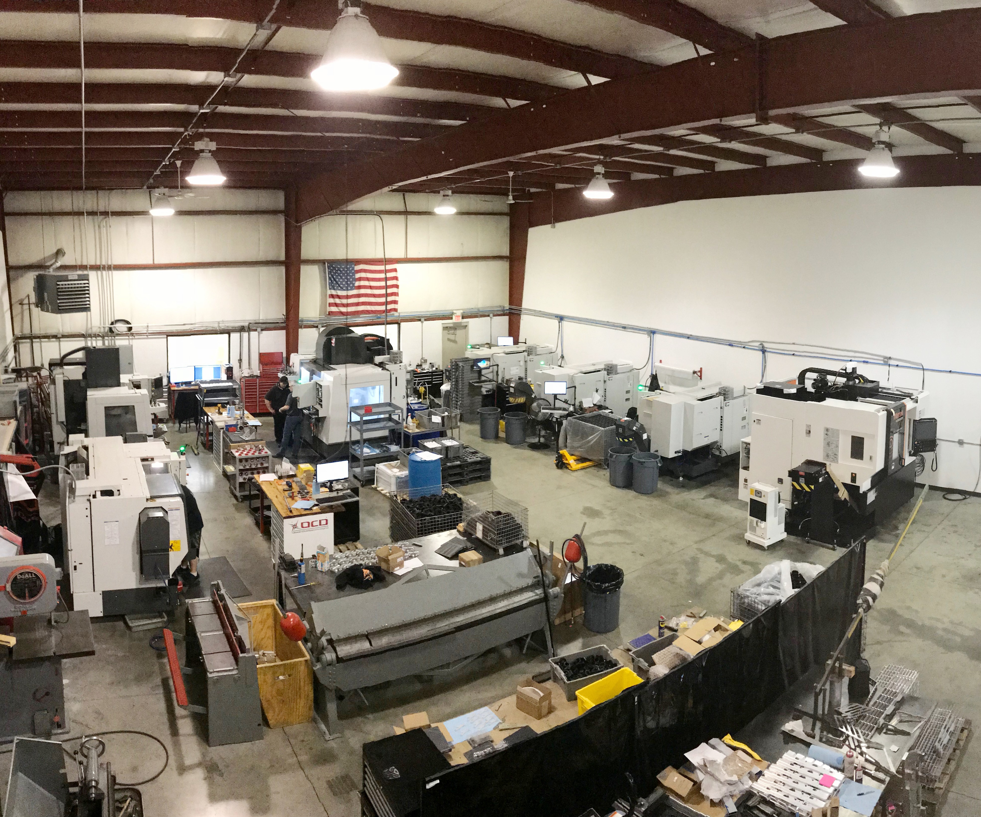 Olson Custom Designs shop floor