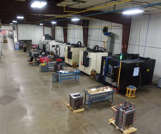 D1 Mold and Tool's VMCs