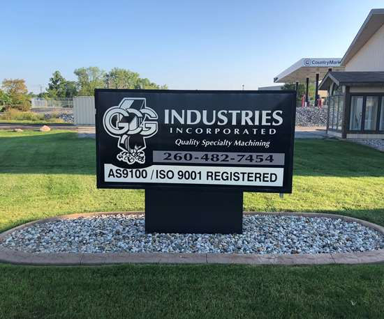 GCG Industries Sign
