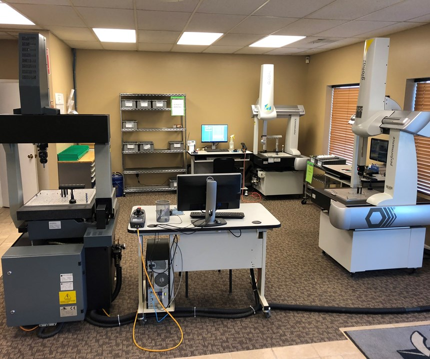 GCG's three coordinate measuring machines