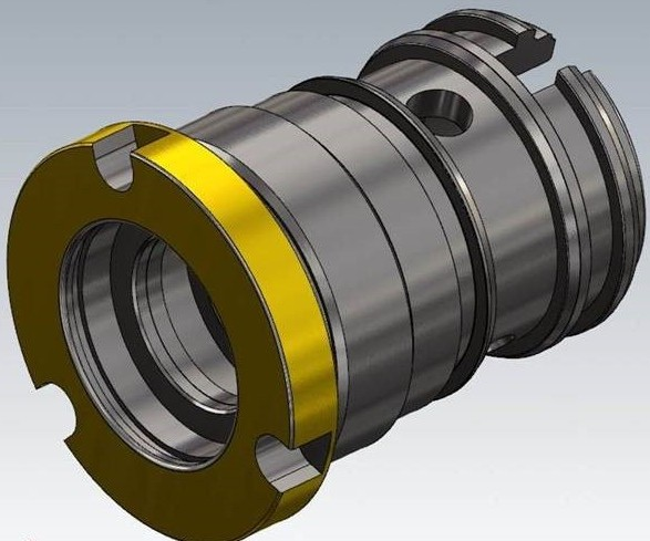 machined part model