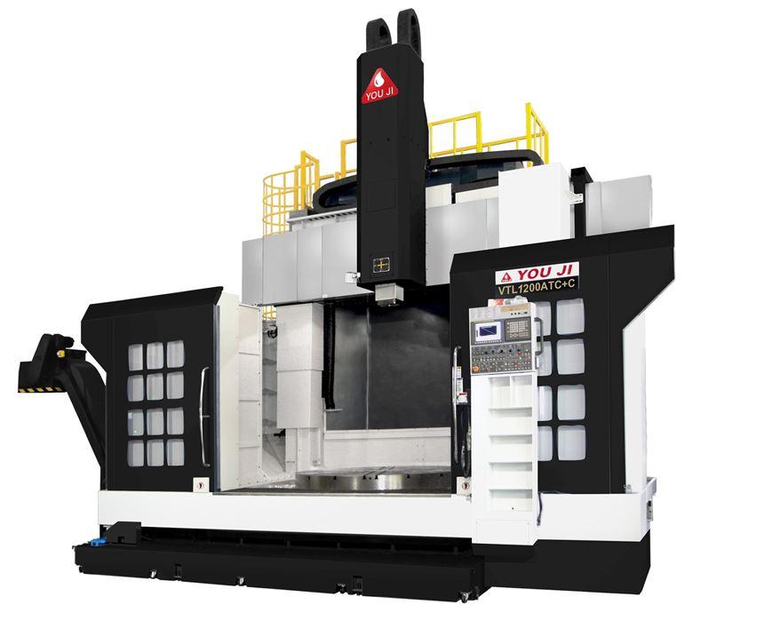 You Ji VTL-1200ATC+C from Absolute Machine Tools