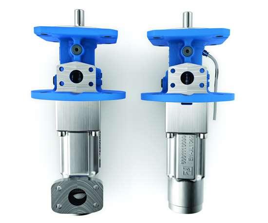 Allweiler's Emtec-C three-screw pump.