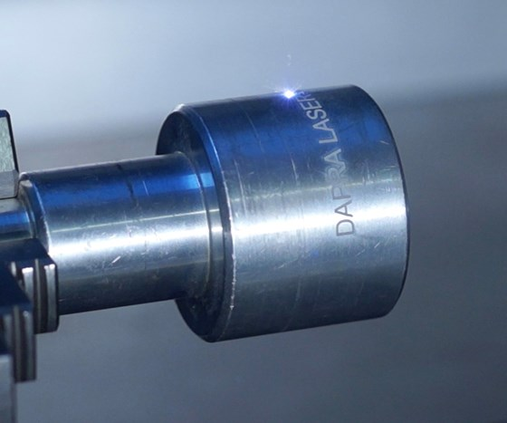Dapra Marking Systems' laser marking system