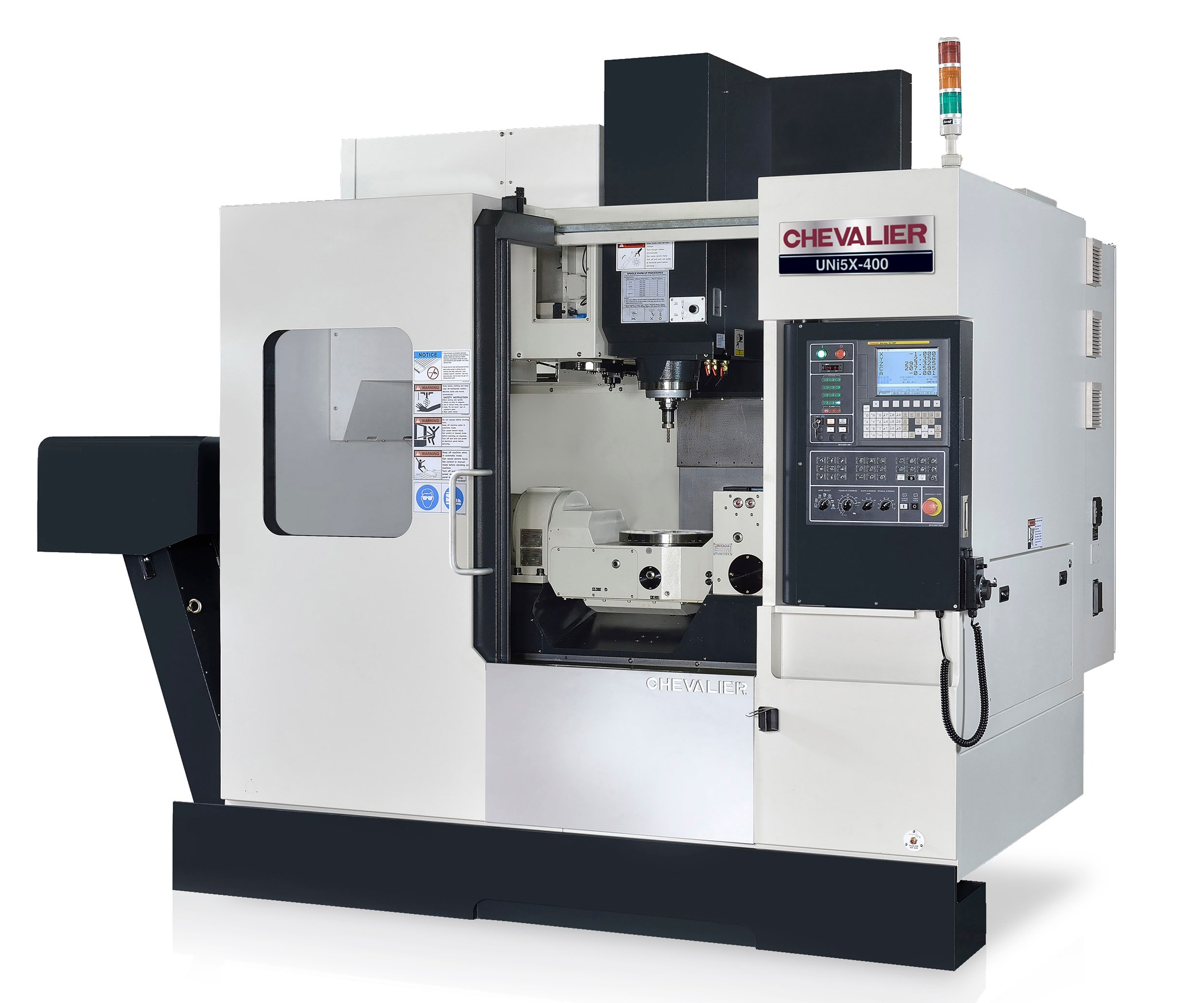 Chevalier Machinery's UNi5X-400 five-axis VMC