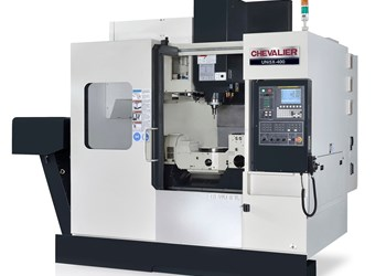 Chevalier Machinery's UNi5X-400 five-axis VMC