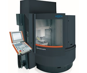 GF Machining Solutions' Mikron HSM 500 Graphite high-speed mill