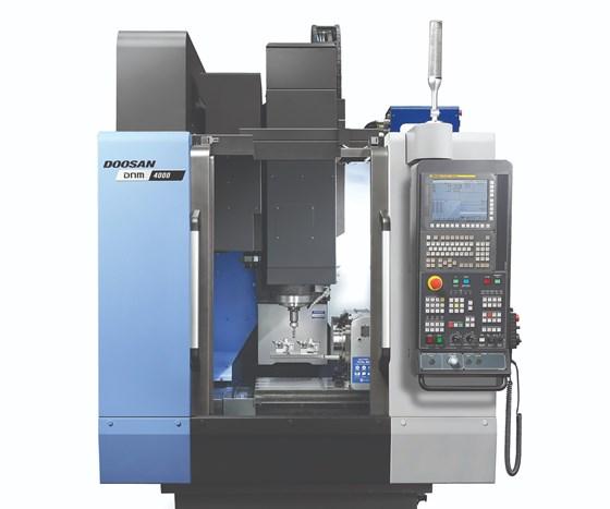 Doosan Machine ToolsDNM 4000 VMC