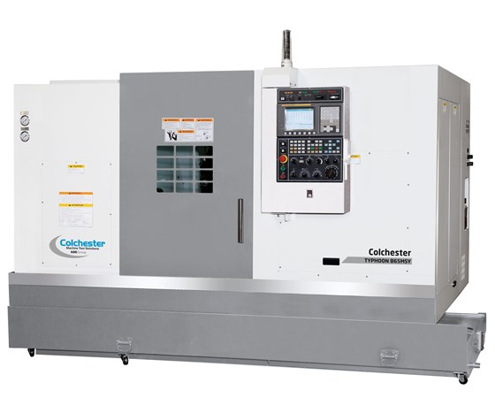 Colchester Machine Tool Solutions' Typhoon turning center