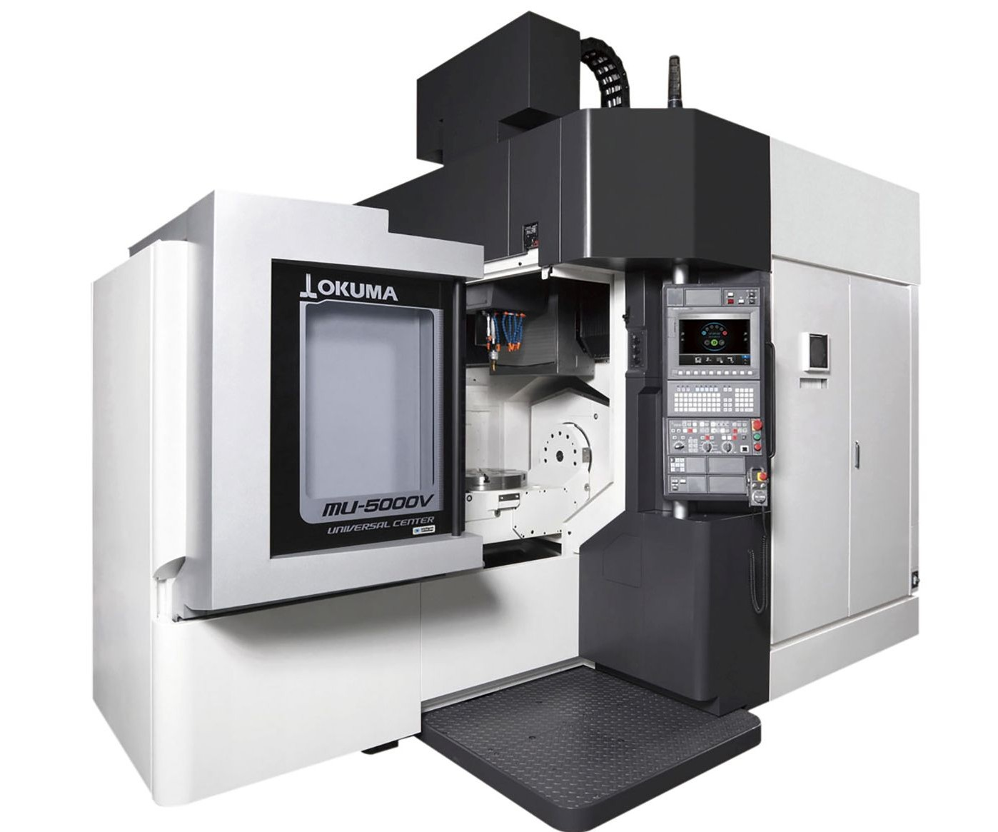 Okuma MU-5000V five-axis vertical machining center