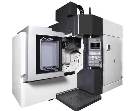 Okuma MU-5000V five-axis vertical machining center