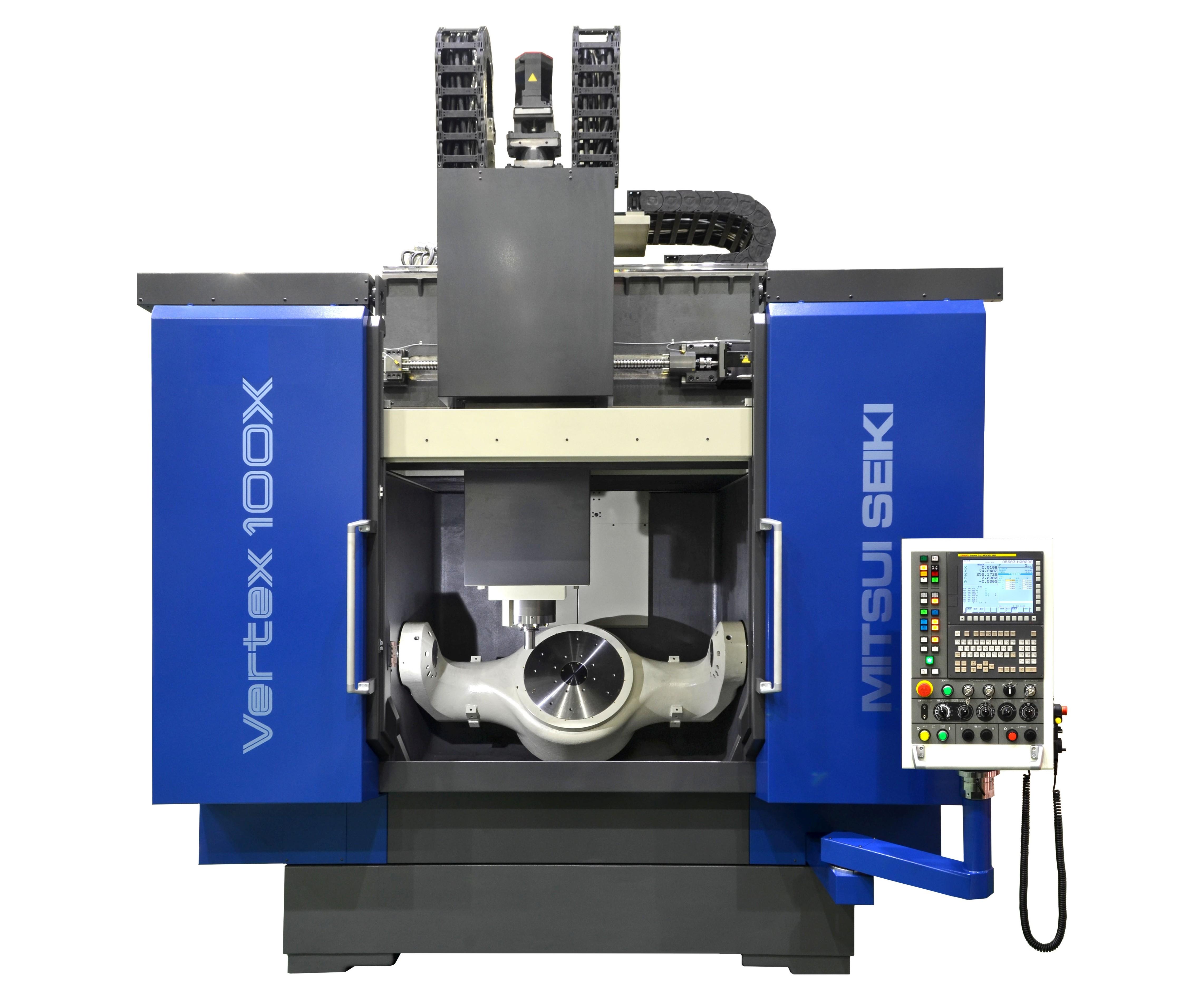 Mitsui Seiki's Vertex 100 5-axis VMC