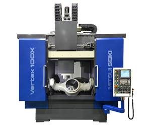 Five-Axis VMC Handles Large Aircraft Components
