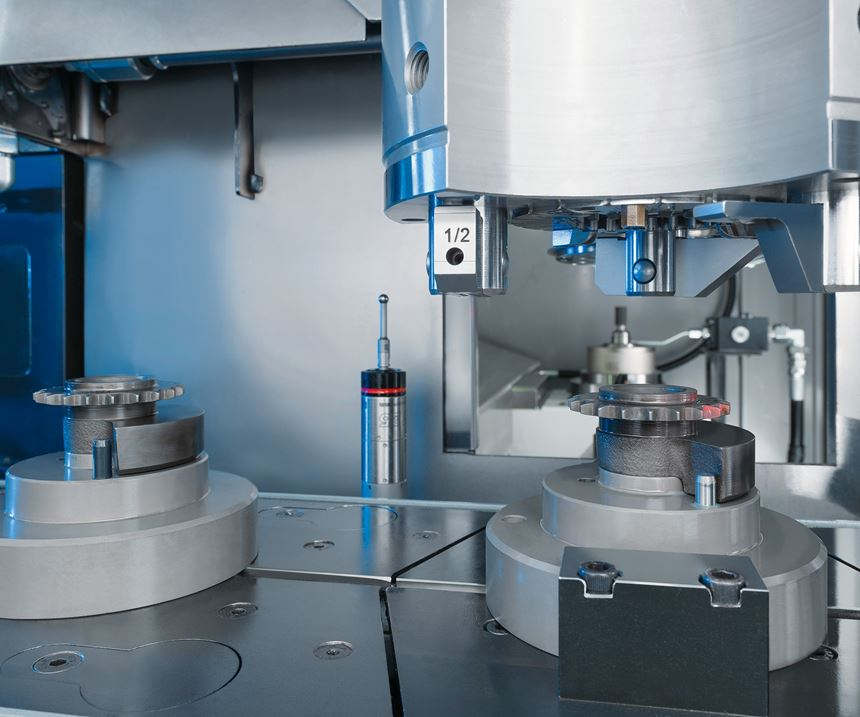 Emag VLC 100 GT vertical turning and finish grinding center