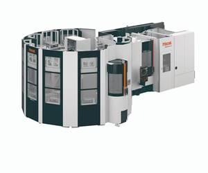 Compact Automation System Designed for Large-Part HMC