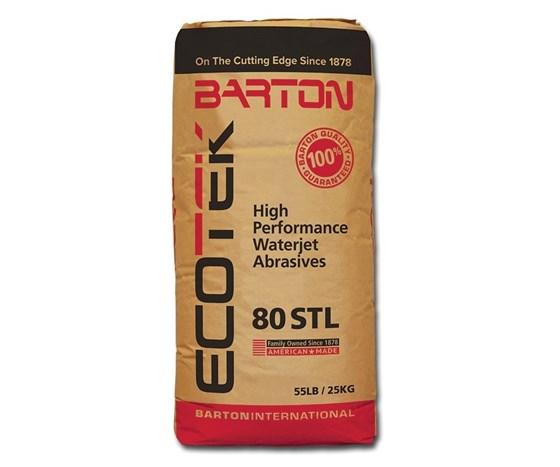 Barton 80 STL waterjet abrasive