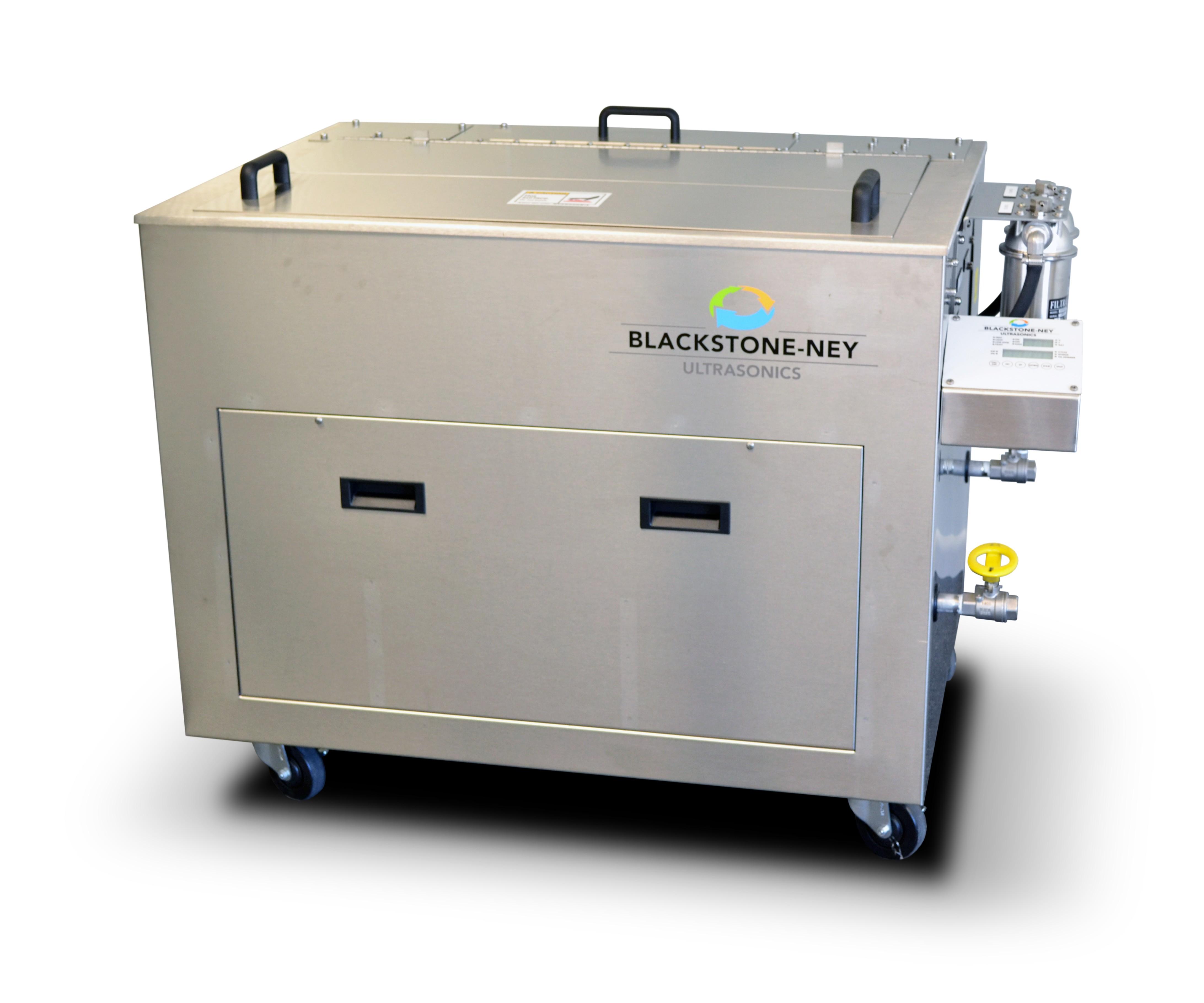 Sistema de limpieza ultrasónico GMC en acero inoxidable de Blackstone-NEY.