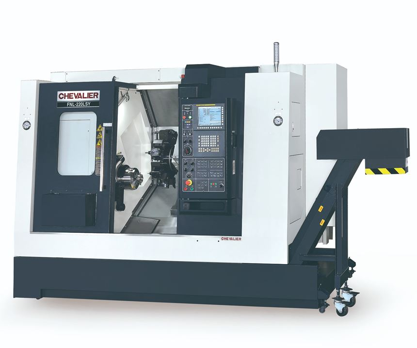 Chevalier FNL-220LSY Series Multi-Axis Lathe