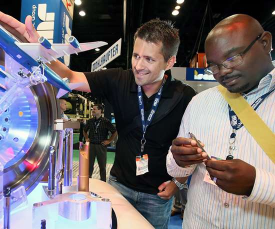 IMTS showcases never-before-seen manufacturing technology.