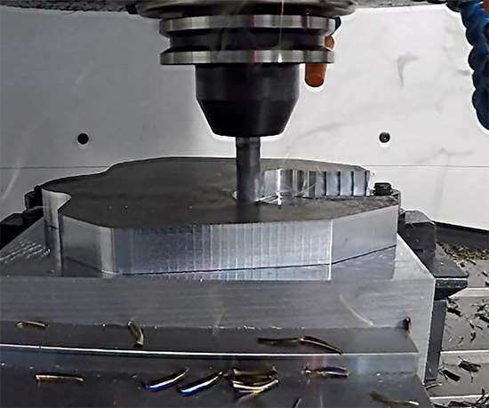 This CNC programming technology generates the most efficient toolpaths that maintain a constant chip load for any cutting tool's top cutting capabilities.