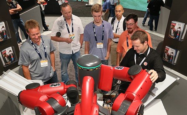 Emerging Trends at IMTS 2018 include topics in robotics and automation.
