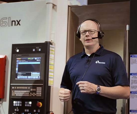 Athena is a hands-free way to execute a number of machine tool control and information display functions using voice-control technology.