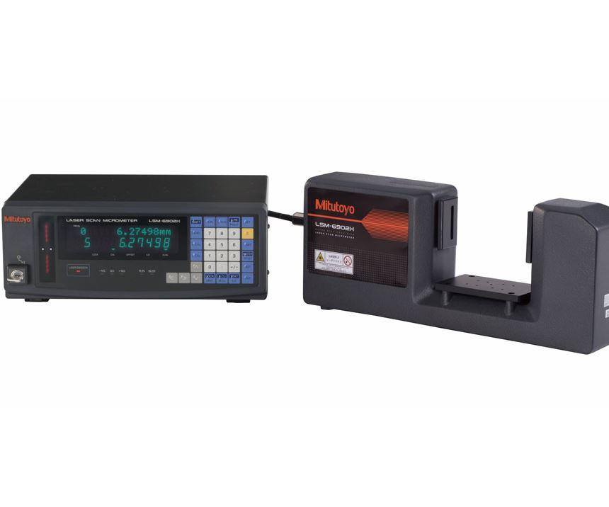 Mitutoyo's LSM-6902H laser scan micrometer.