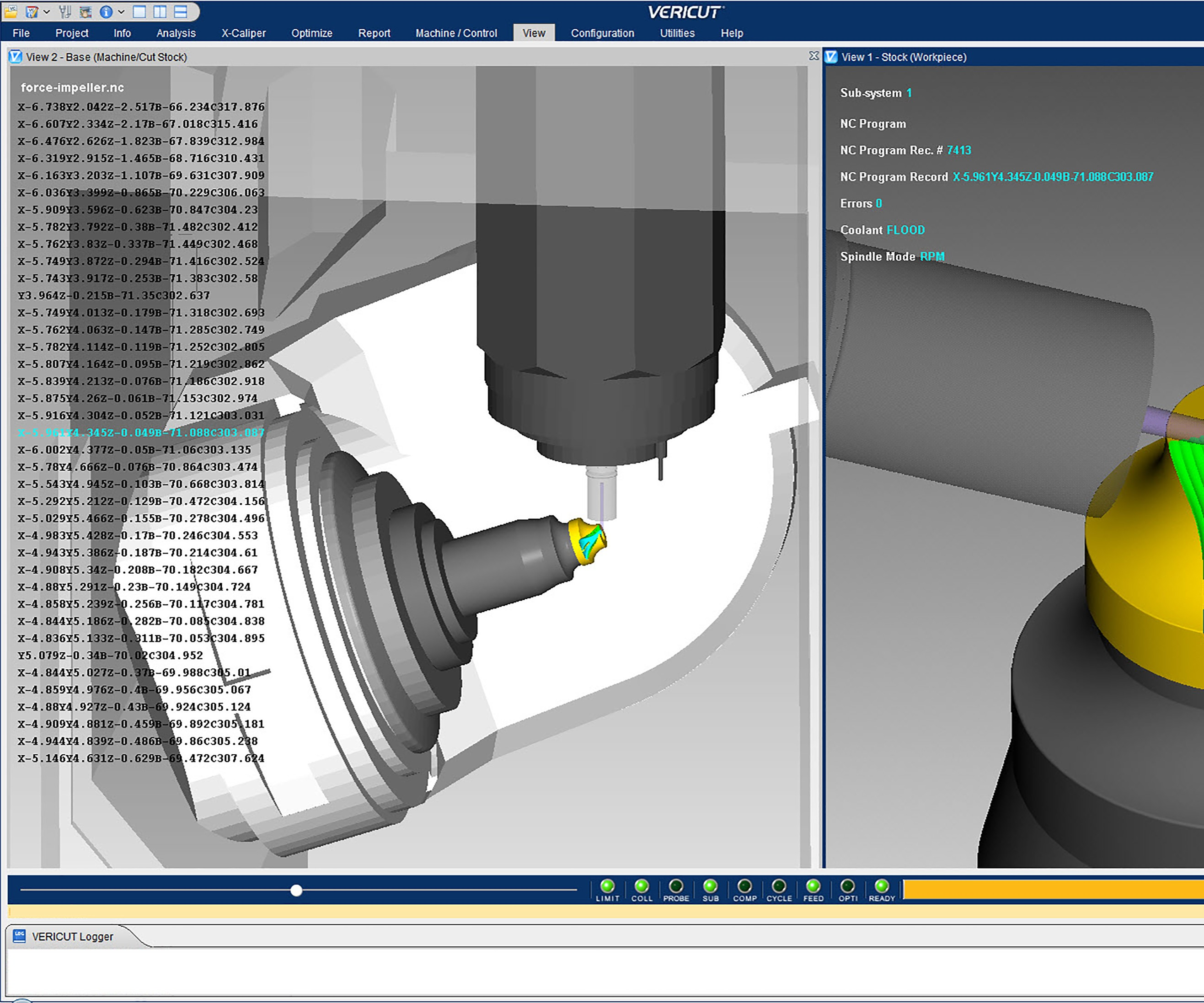 CGTech Vericut Version 8.2 CNC Simulation Software