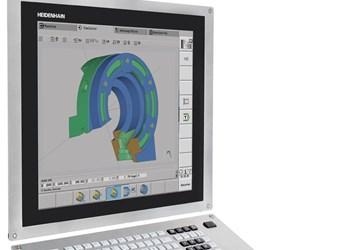Heidenhain CNC Pilot640lathe control