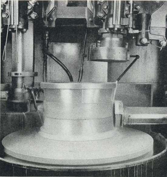 1943 Timken bearing grinding