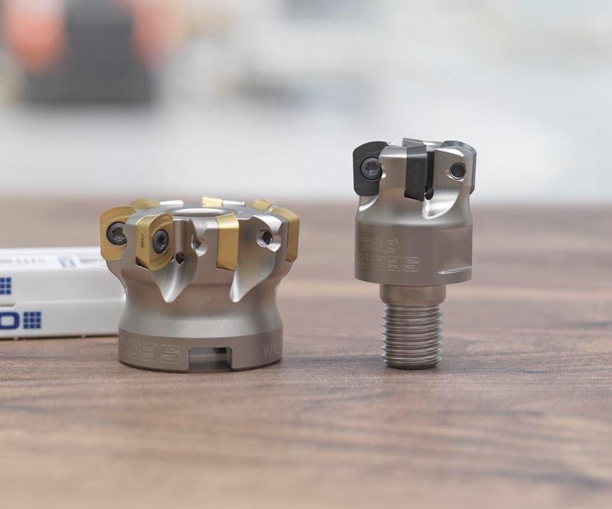 Seco Tools' LP09 inserts.
