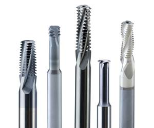 Solid Carbide Thread Mills Increase Life, Improve Thread