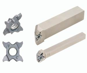 Inserts Add Flexibility to Grooving Tool Line