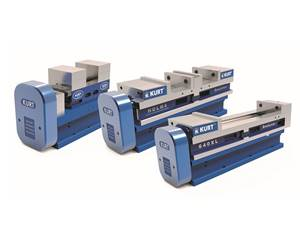 Motorized Air Vises Designed for Automated Machining Cells