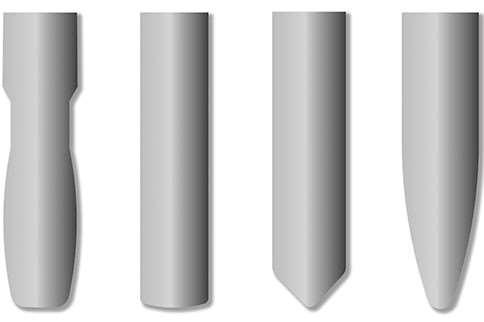 basic forms of circle segment milling tool types