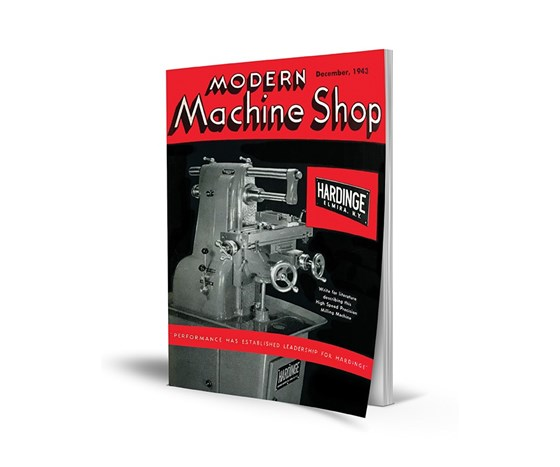Modern Machine Shop cover December 1943