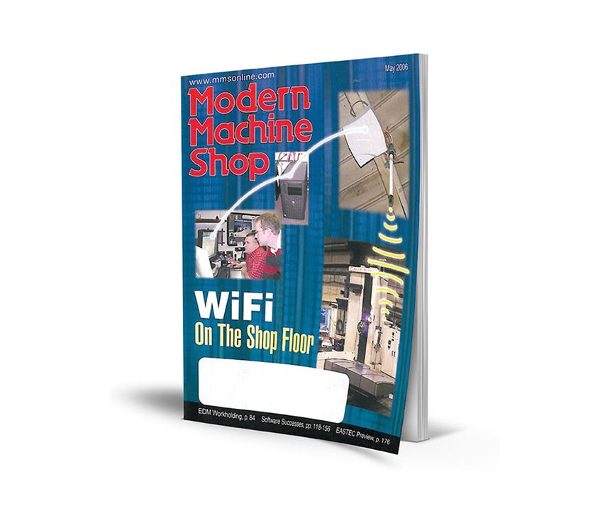 Cover of the May 2006 issue of Modern Machine Shop magazine