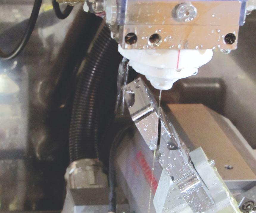 EDM wire threader