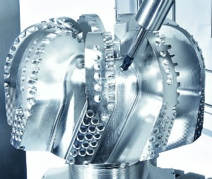 5-axis machining of complicated parts