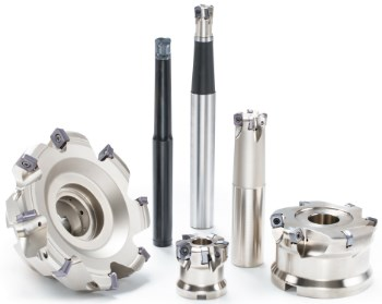 Tungaloy high feed milling cutters