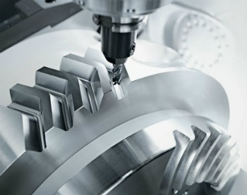 Cutting gears on 5-axis machining center