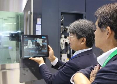 Makino augmented reality iPad application
