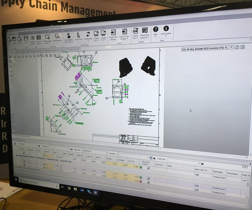 Among other capabilities, quality software from HighQA  automatically extracts GD&T data and balloons design files.