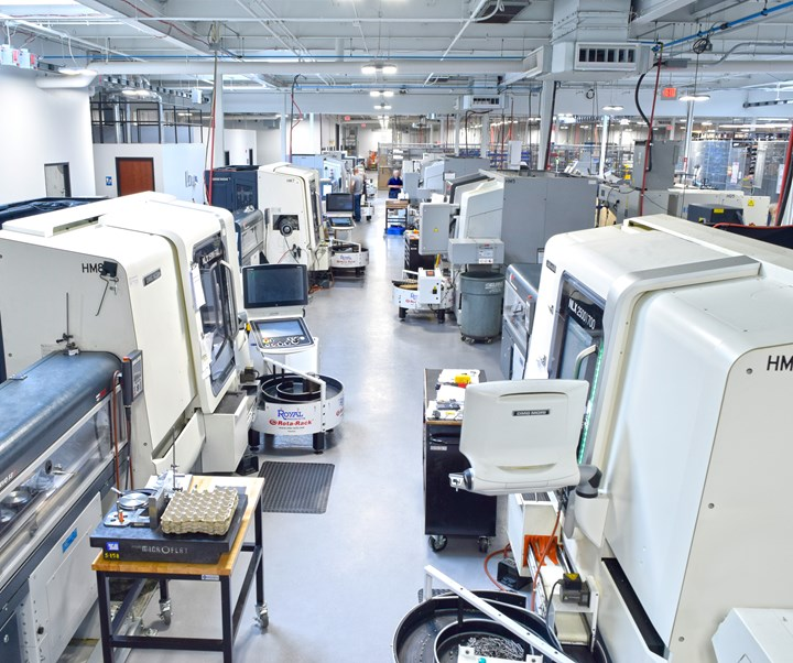 Sophisticated machine tools in need of skilled personnel at Designatronics