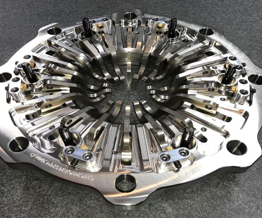 CNCPE Pressure-Plate Cover