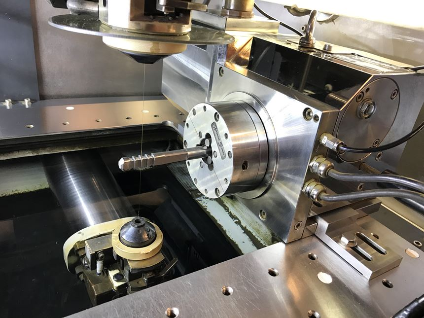 machining a custom broach on a Mitsubishi wire EDM