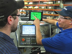 Shopfloor Data-Driven Machining MachineMetrics