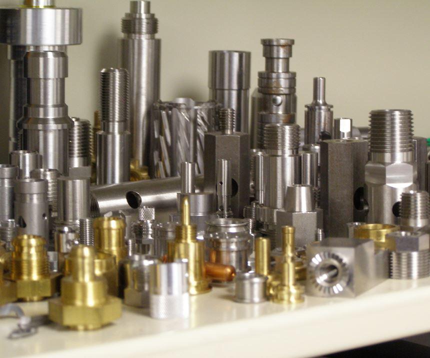 Alpha Grainger parts for Modern Machine Shop magazine