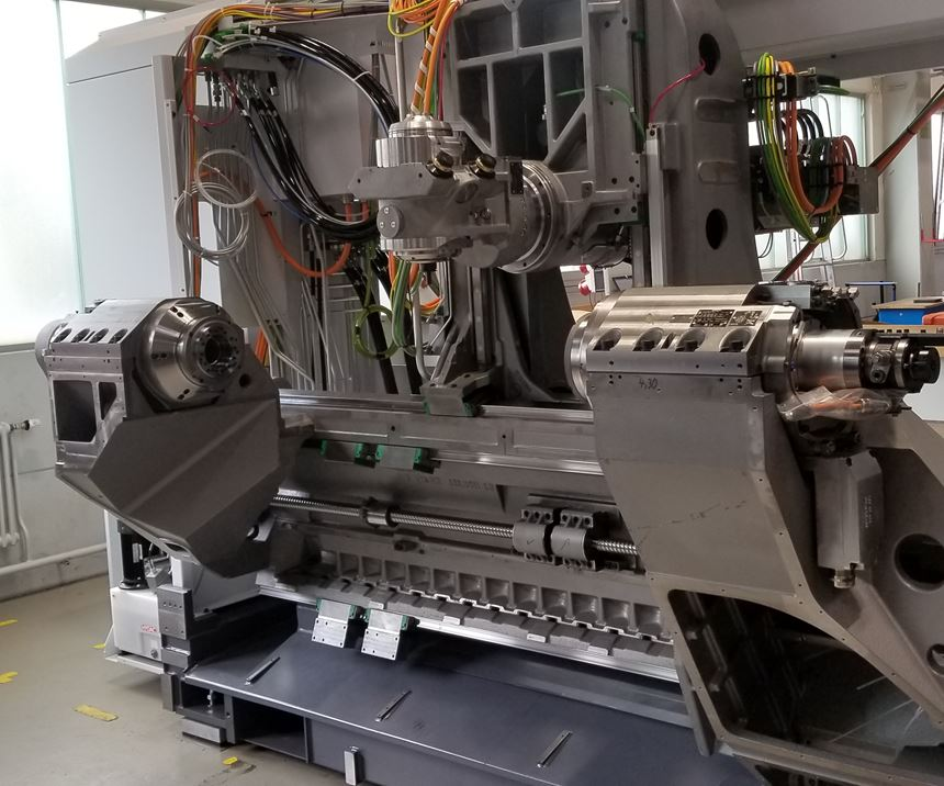 Index Traub G420 Machine Bed